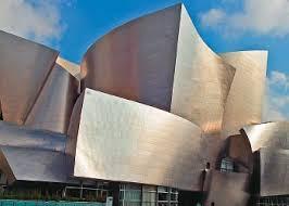fachada del auditorio Disney de Los Ángeles