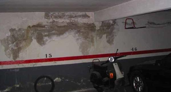 Problemas de humedades en las viviendas