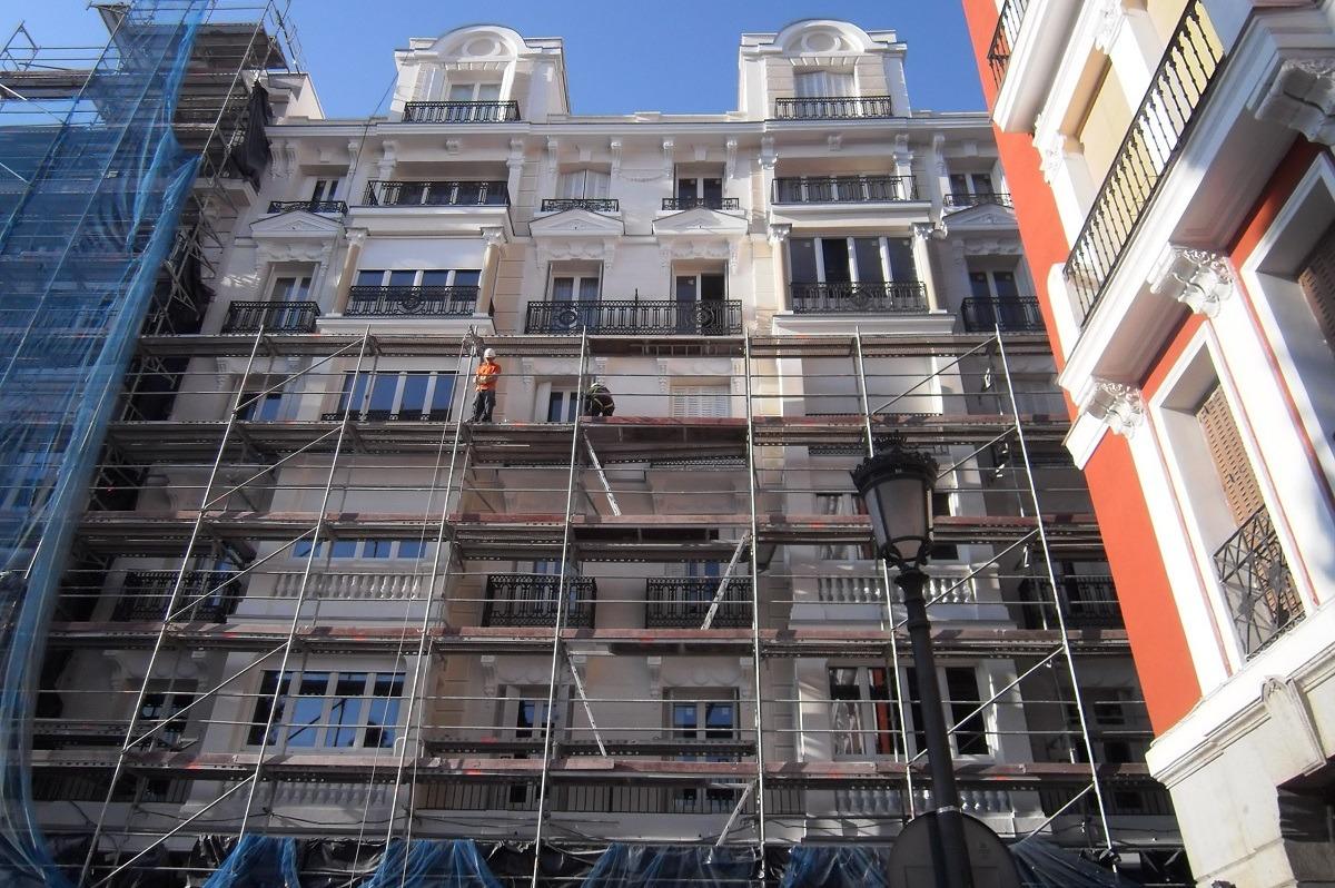 Rehabilitación Edificio de viviendas Arrieta 14 3