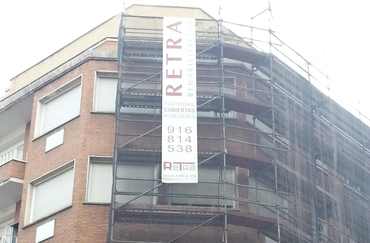 Rehabilitación edificio de viviendas de Madrid