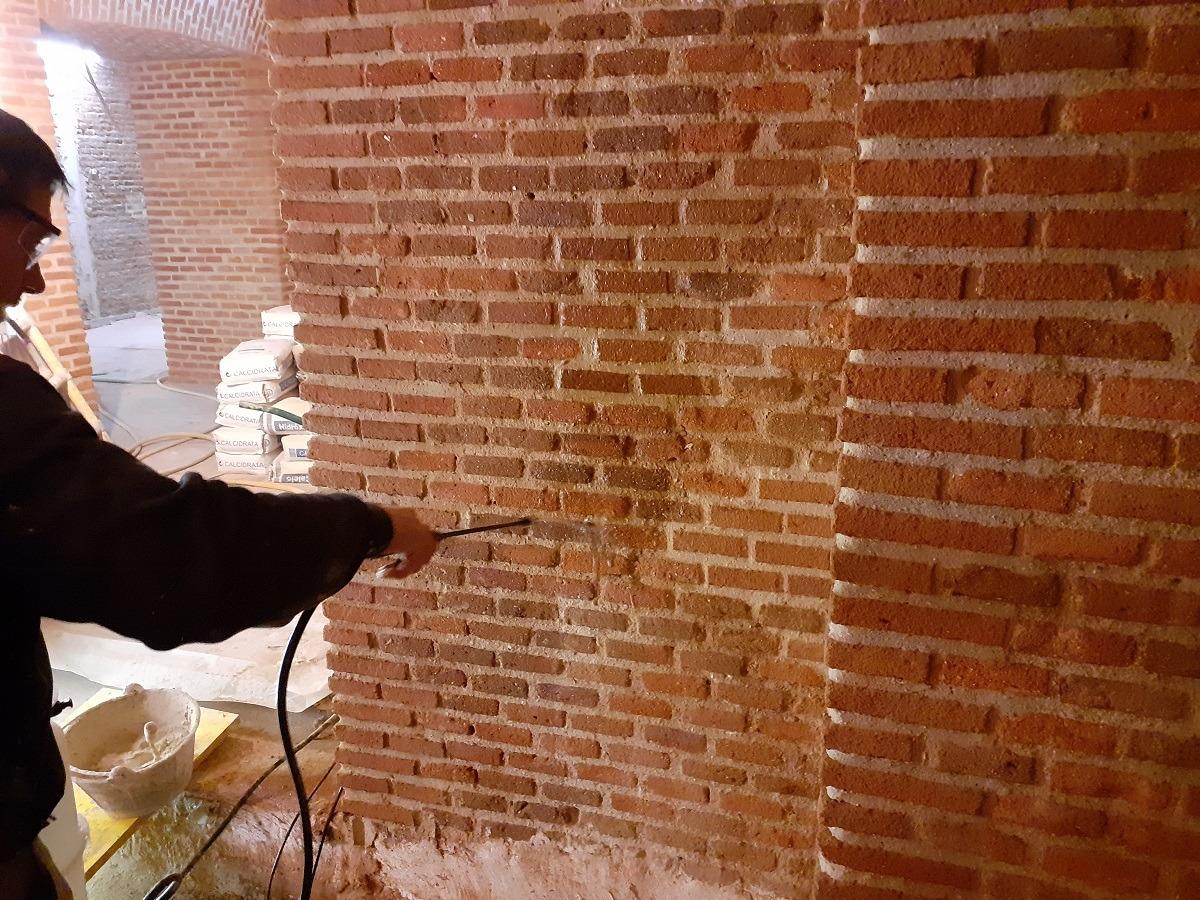rehabilitación edificio congreso de los diputados las Cortes, Madrid Contrata principal DRAGADOS Fecha: 2019-2020 En verano de 2018 se comienzan las obras de recuperación de los paramentos que forman las bóvedas situadas en el Congreso de los Diputados (Madrid).