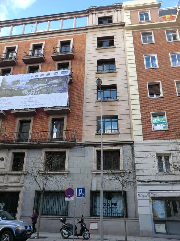 Rehabilitación fachadas Ferraz