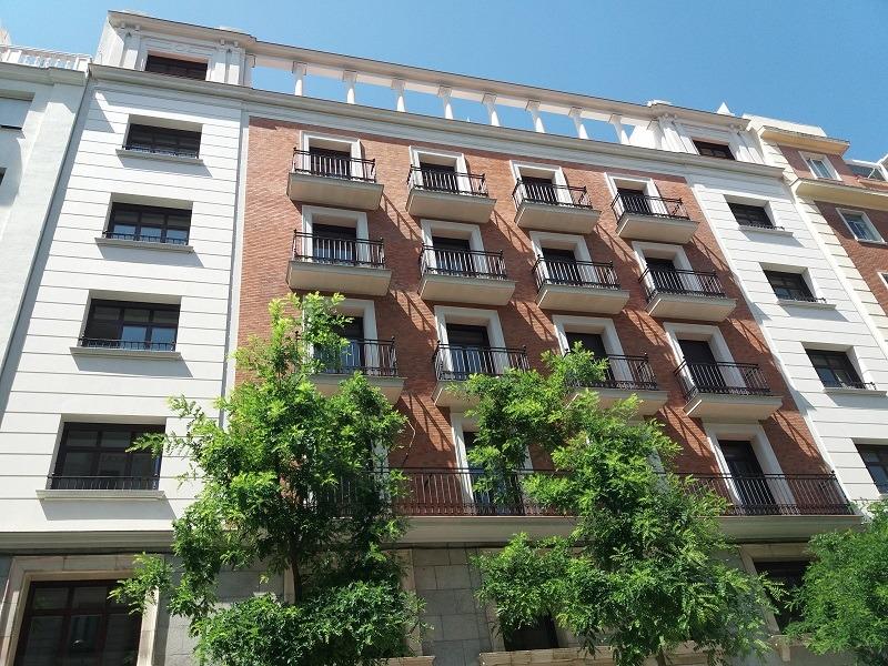 Rehabilitación fachadas Ferraz (Madrid)