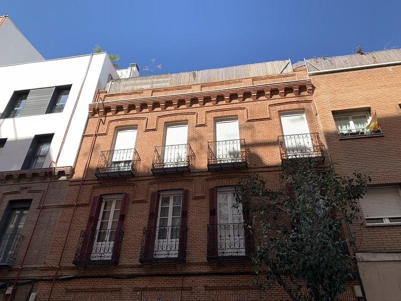 rehabilitación fachadas distrito Salamanca