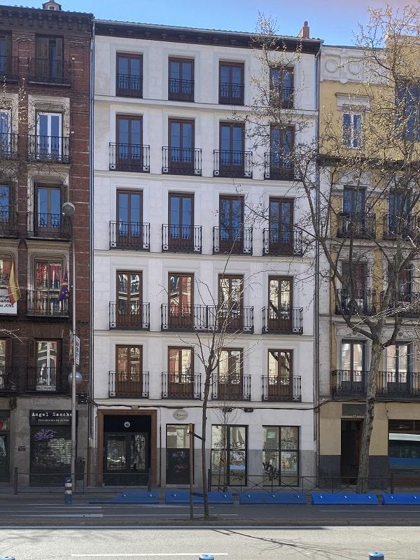 reparación fachadas y cubiertas Madrid