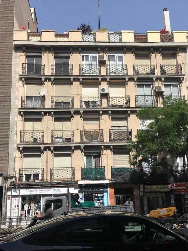 Restauración fachada Bravo Murillo