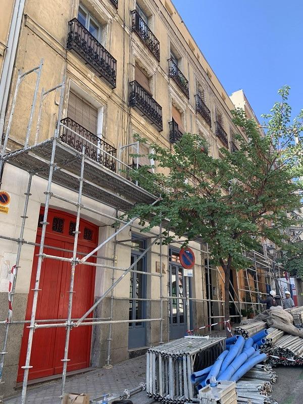 rehabilitacion edificio Madrid Centro 1
