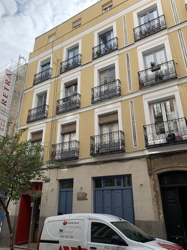 rehabilitacion edificio Madrid Centro 4