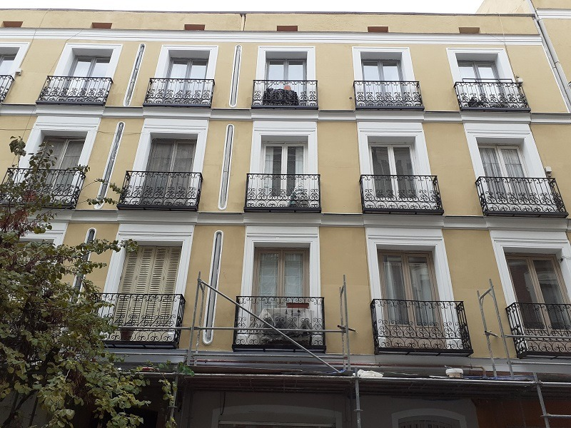 rehabilitacion edificio Madrid Centro 7