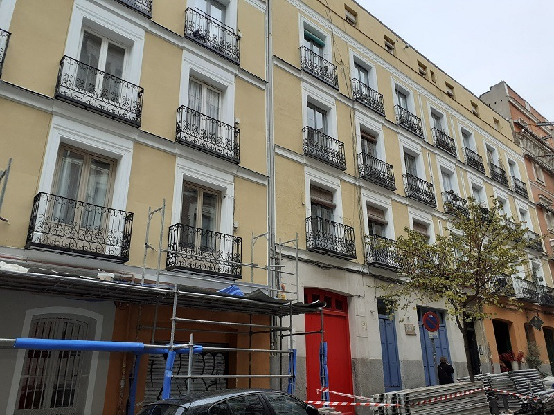 rehabilitacion edificio Madrid Centro 8