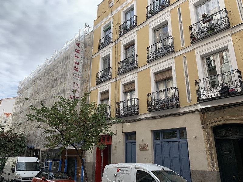 rehabilitacion edificio Madrid Centro 9