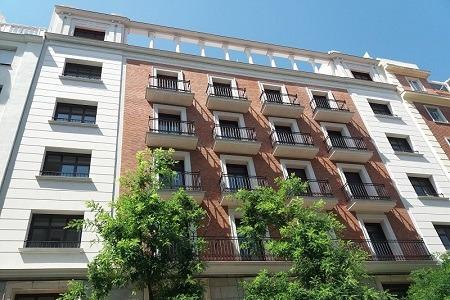 rehabilitación fachadas Ferraz Madrid