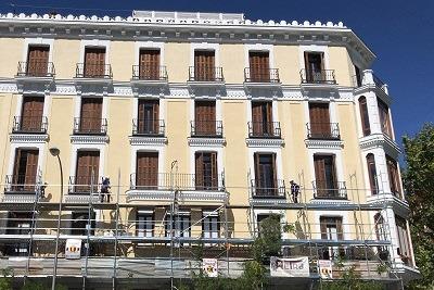 Limpieza de fachadas y restauración de balcones Madrid