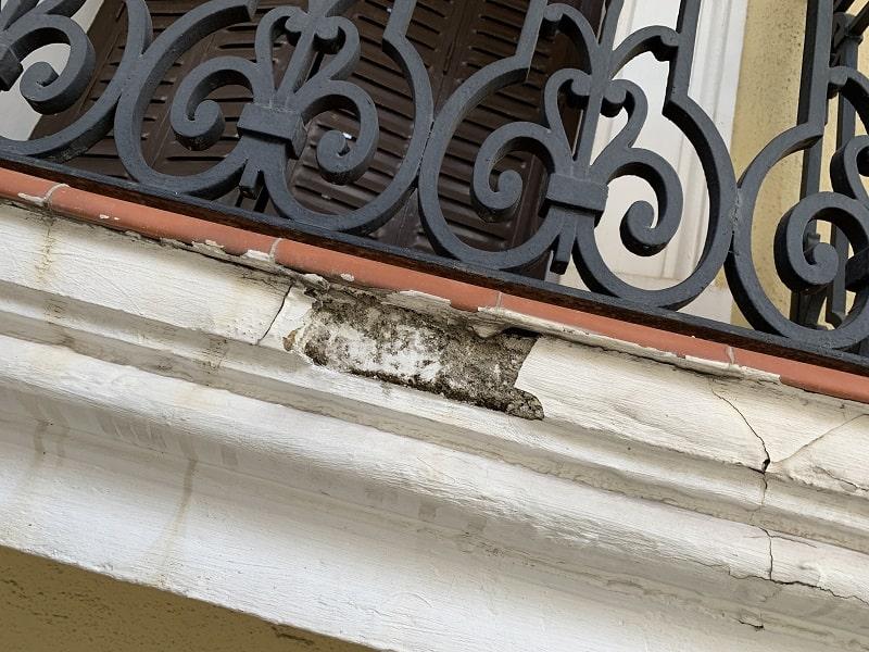 Restauración de balcones y saneamiento fachada Madrid